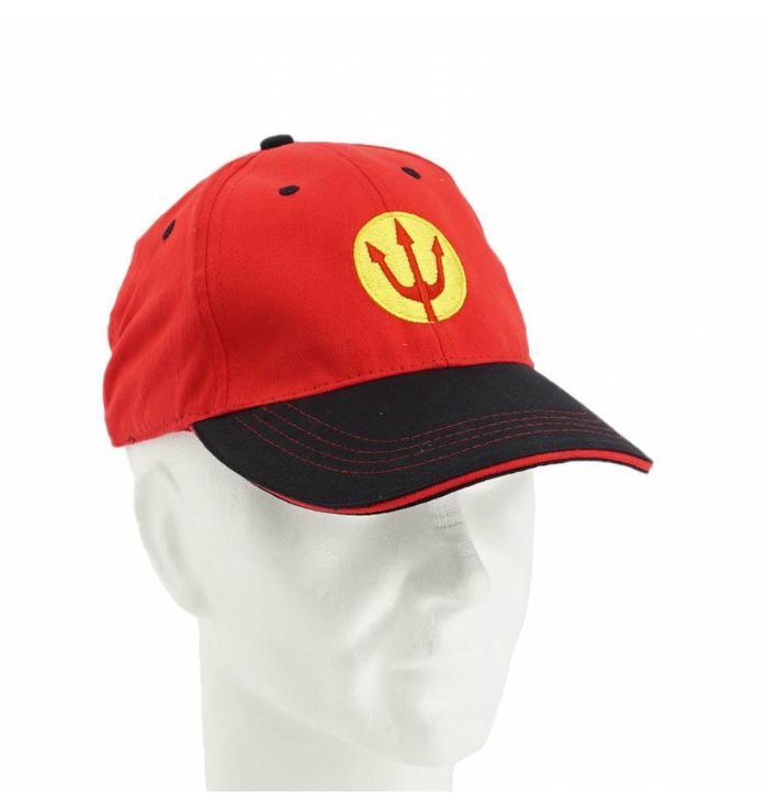 Red URBSFA Trident cap
