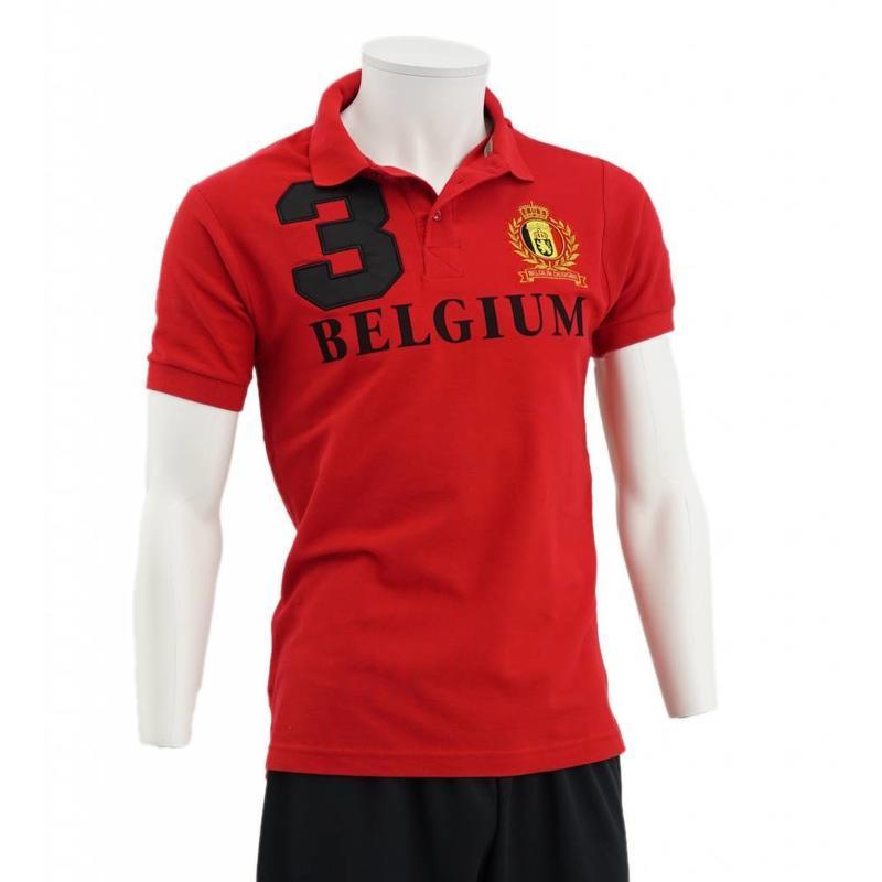 Red Belgium Polo