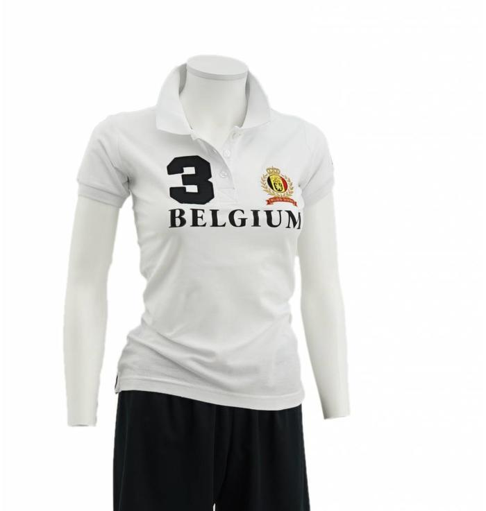 Witte Polo Vrouwen - S
