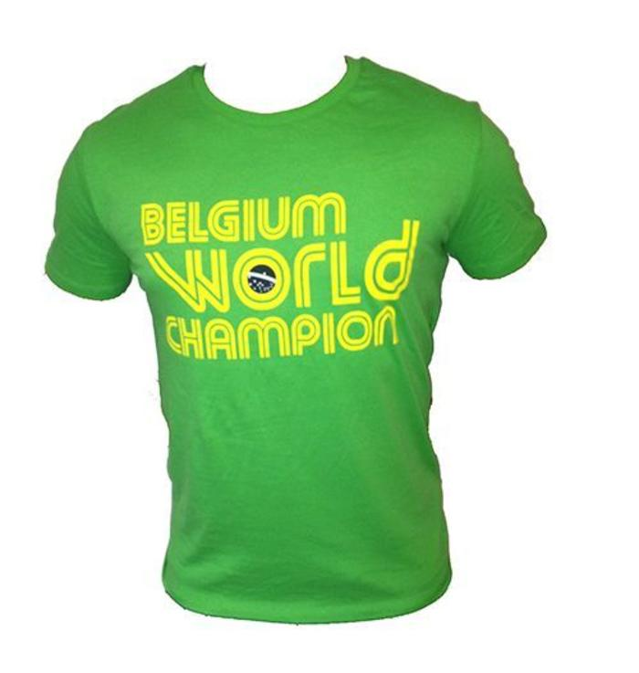 T-shirt Belgium World Champion