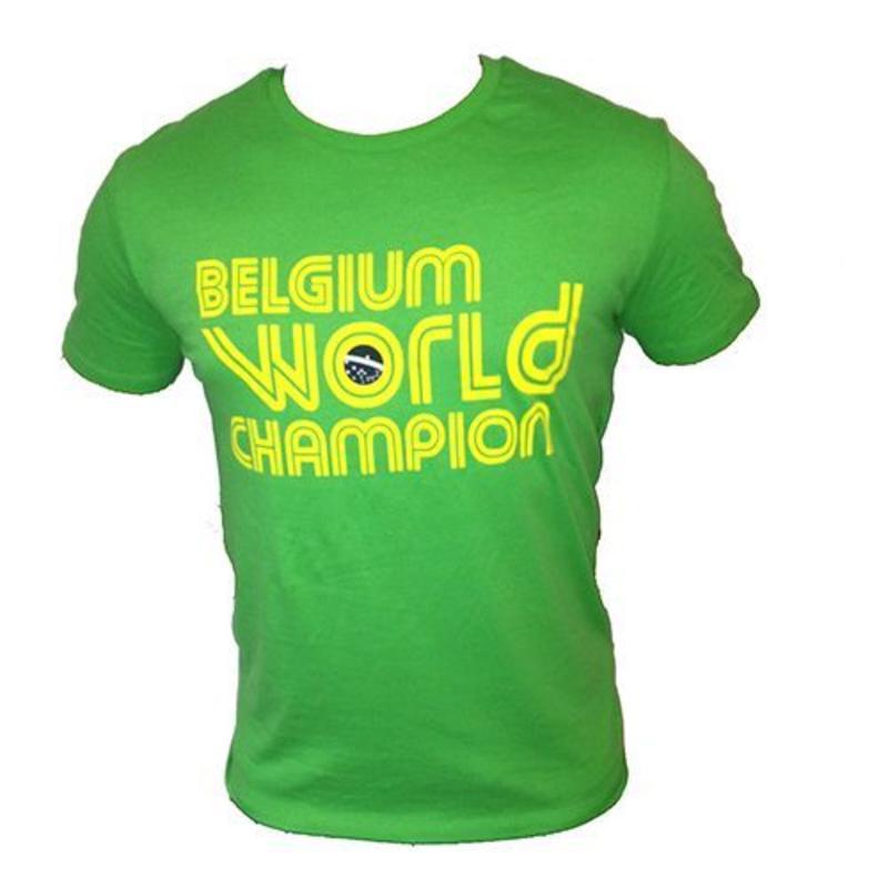 T-shirt Belgium World Champion