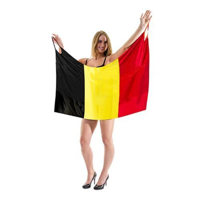 Drapeau-robe Belgique