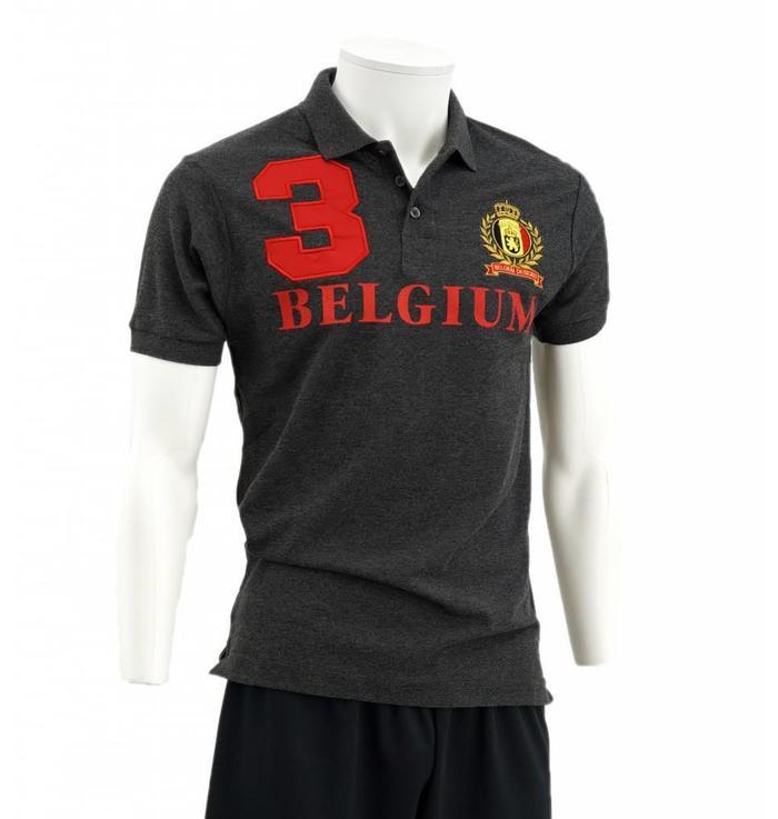 Polo Gris Belgium