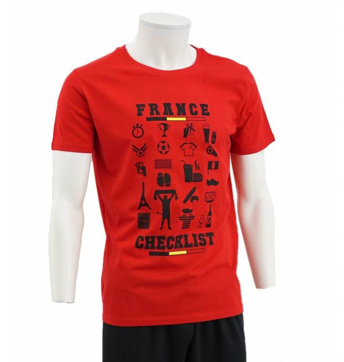 T-shirt rouge France