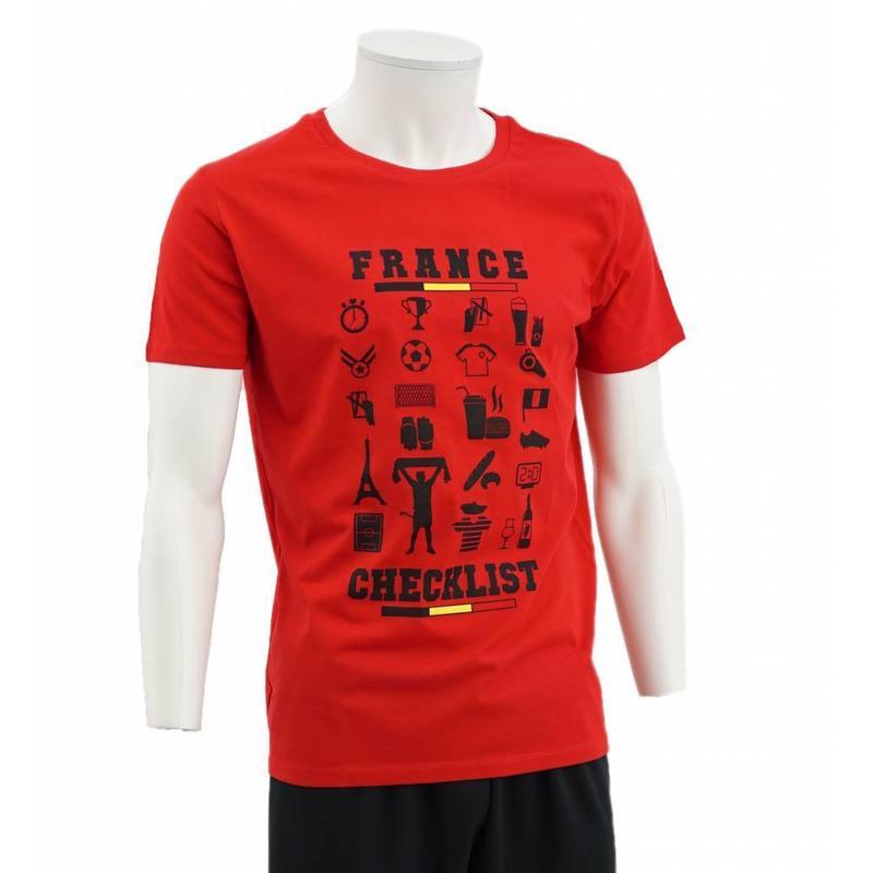 T-shirt rouge France