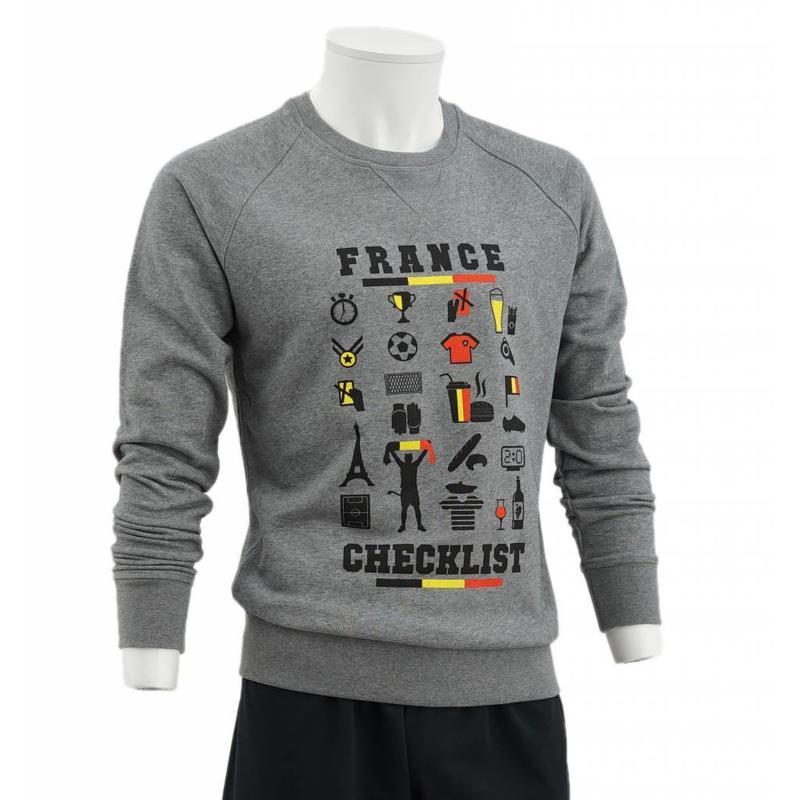 Grey sweatshirt France