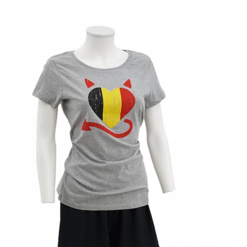 T-shirt Coeur belge