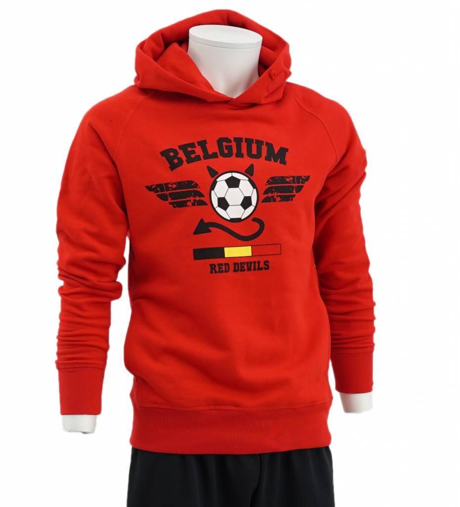 Red hoodie Red Devils