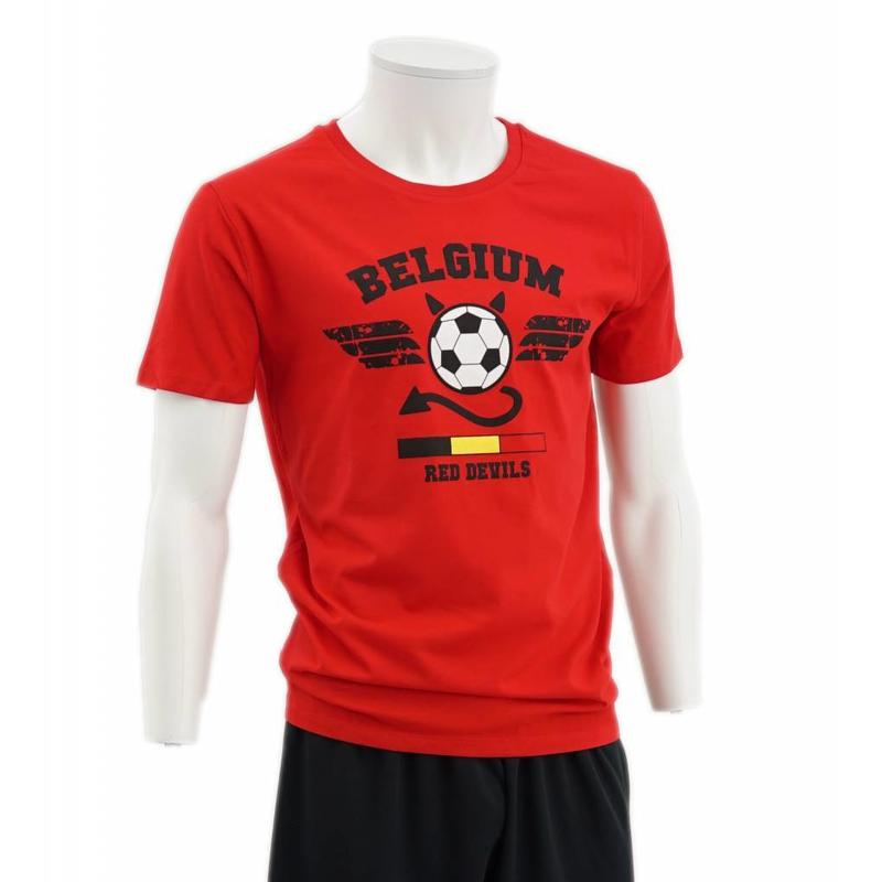 T-shirt rouge Red Devils