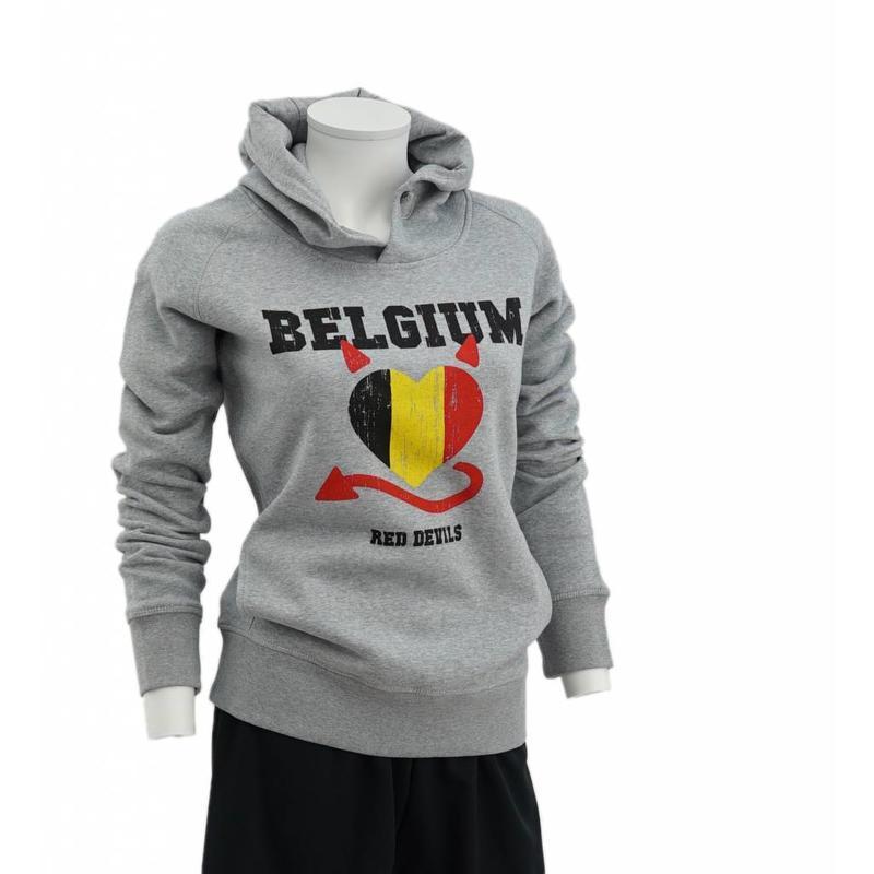 Grey hoodie Red Devils