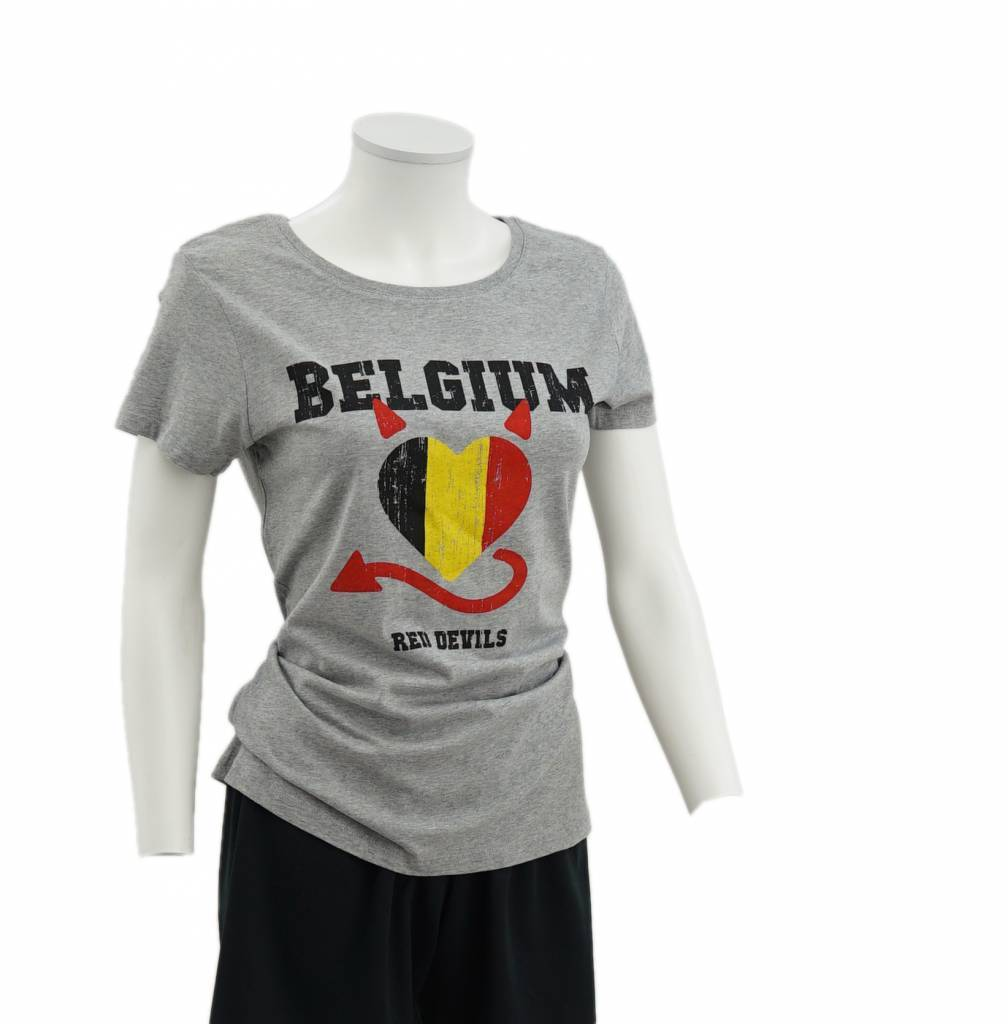 Grey t-shirt Red Devils women