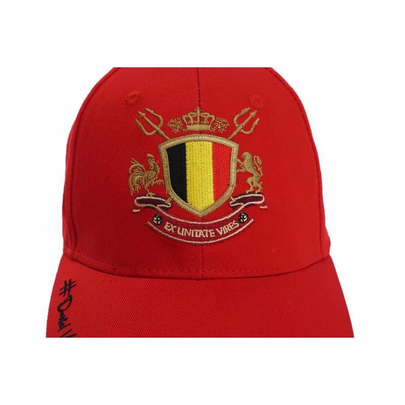 Casquette rouge Daniel Van Buyten
