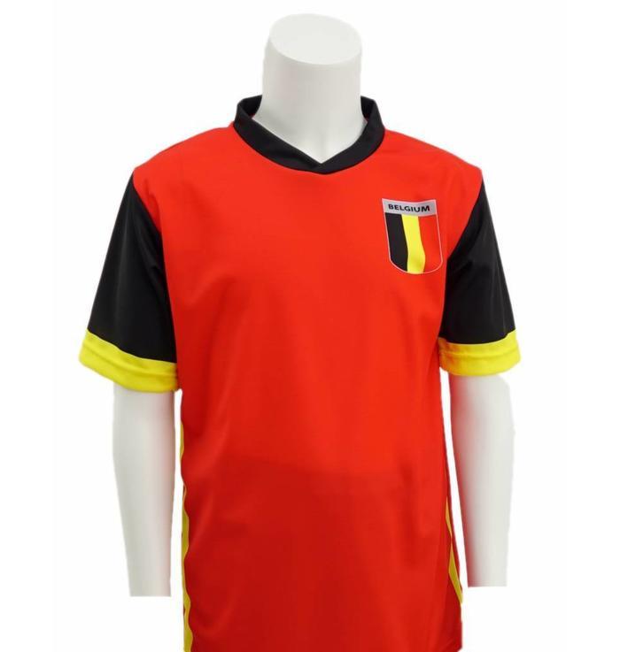 Maillot rouge Belgique