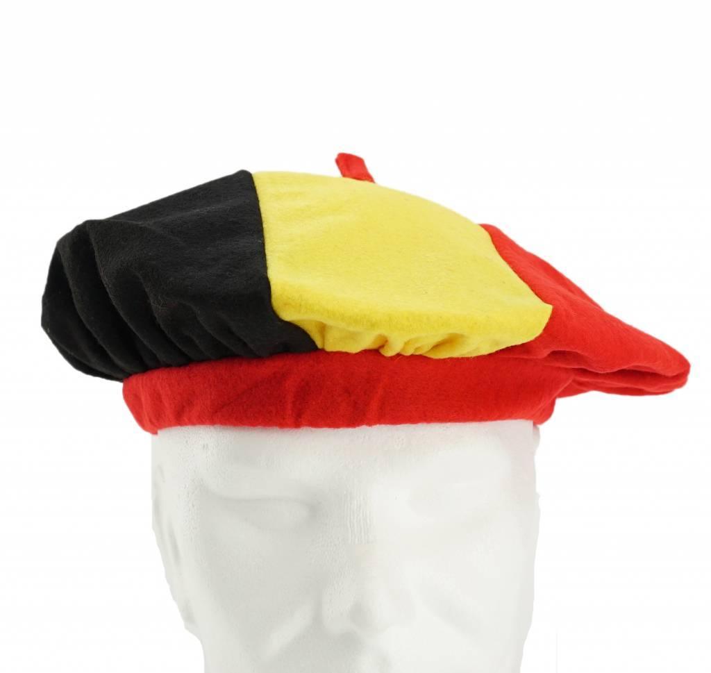 Baret Belgische driekleur