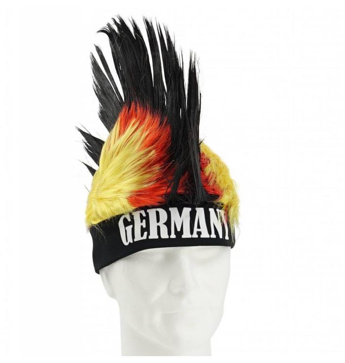 Pruik met hanenkam Duitsland