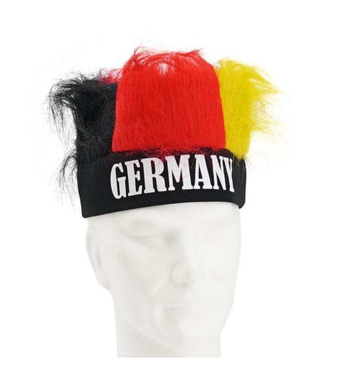 Pruik met haarband Duitsland