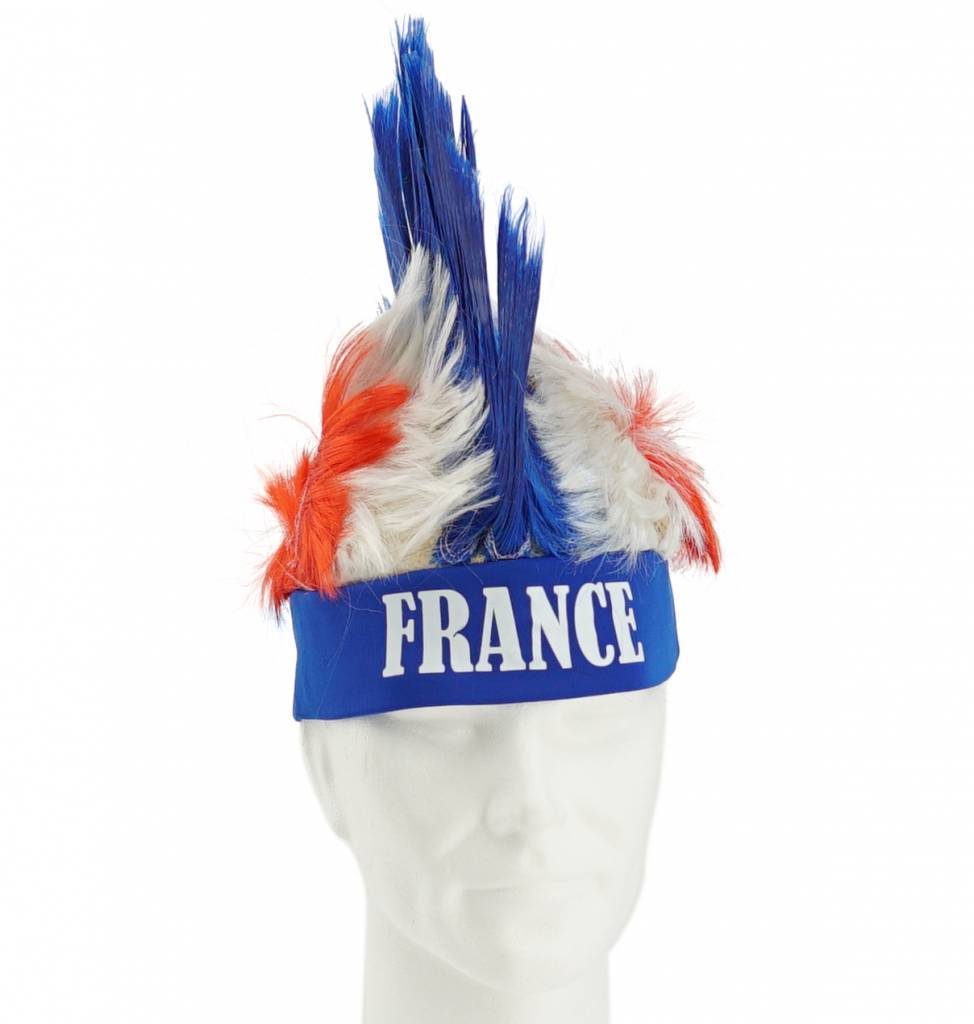 Wig with mohican France