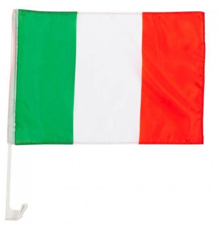 Car flag Italy