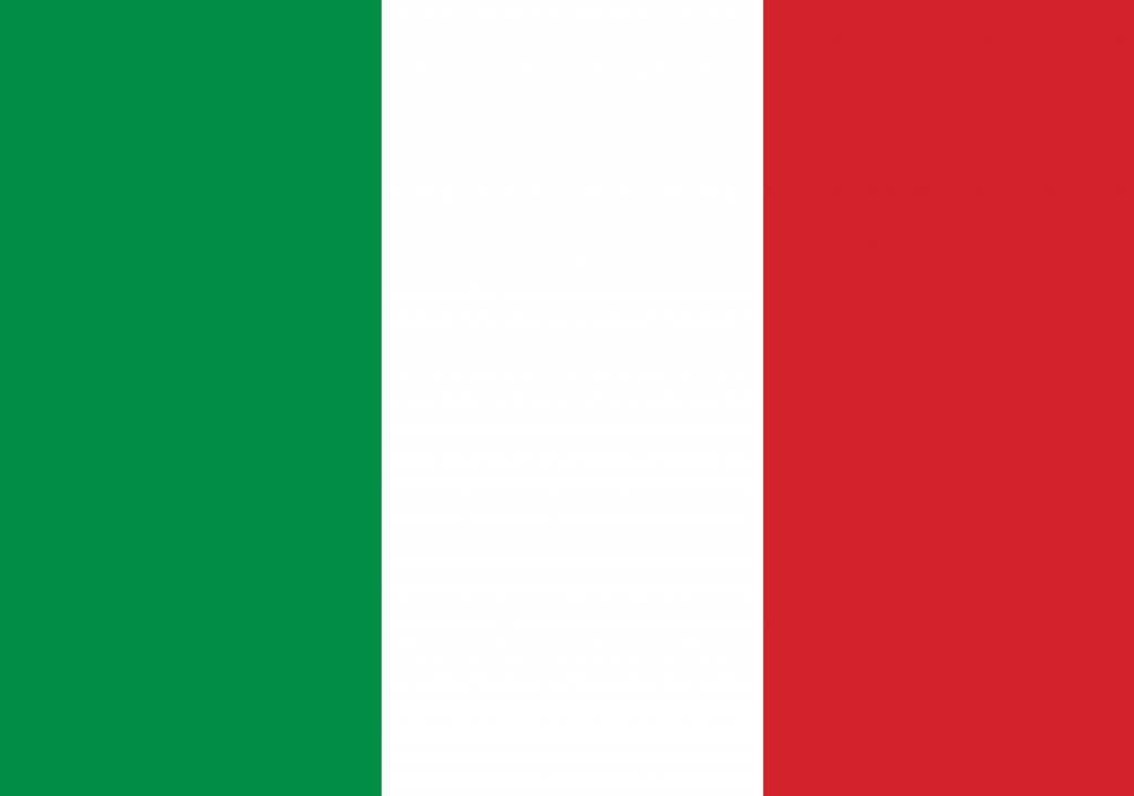 Acheter drapeau italie for Green italy