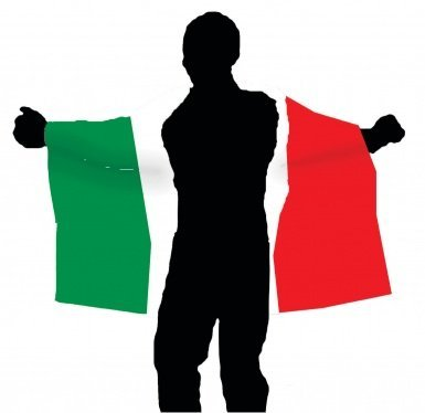 Cape flag Italy