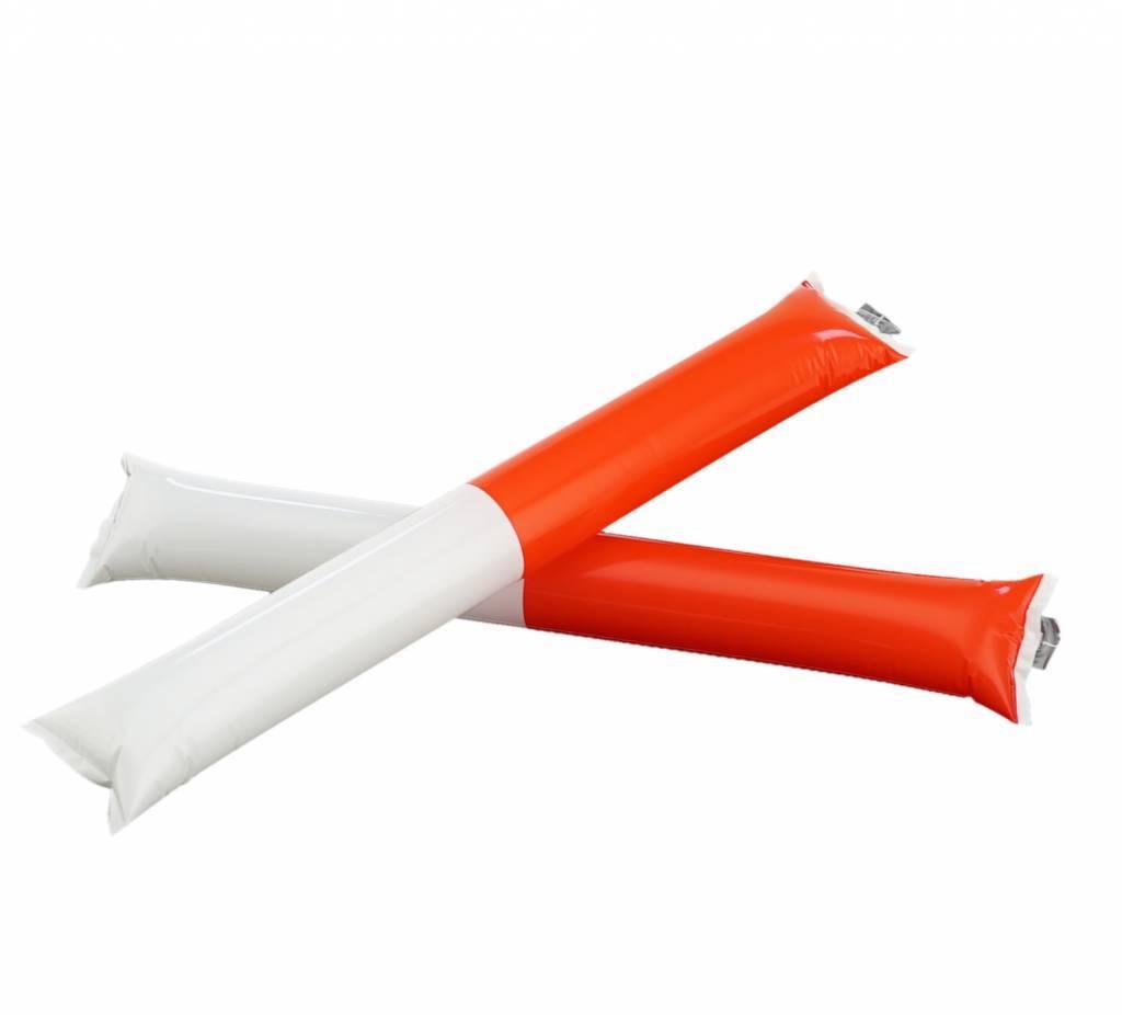 Bang bangsticks rood-wit