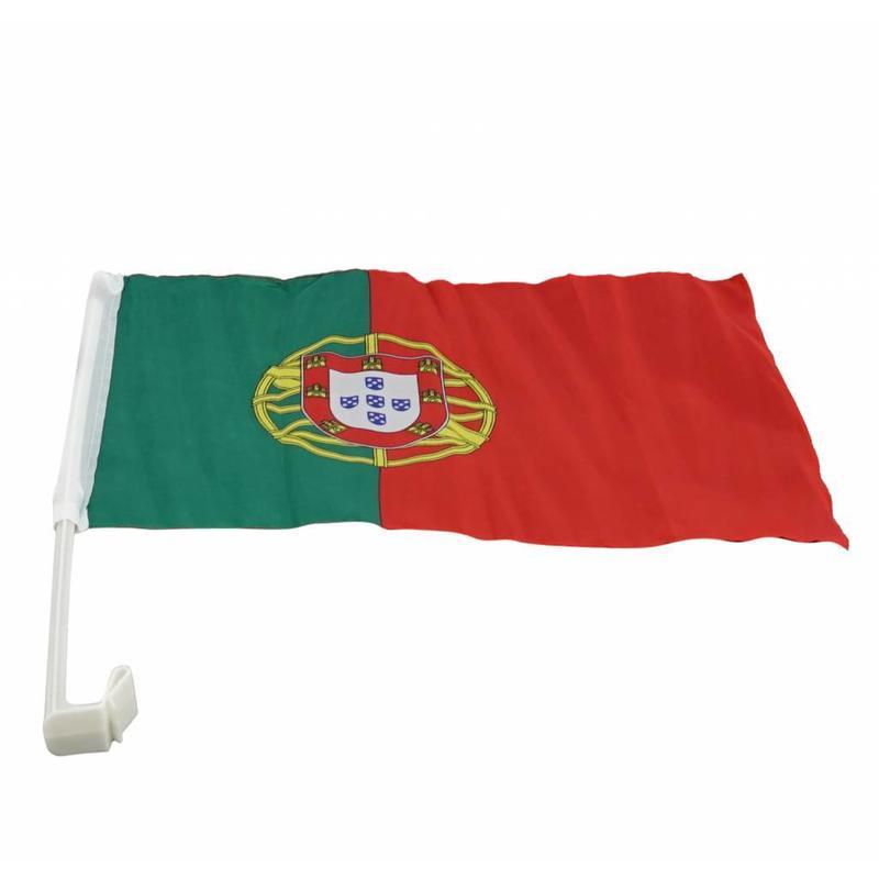 Car flag Portugal