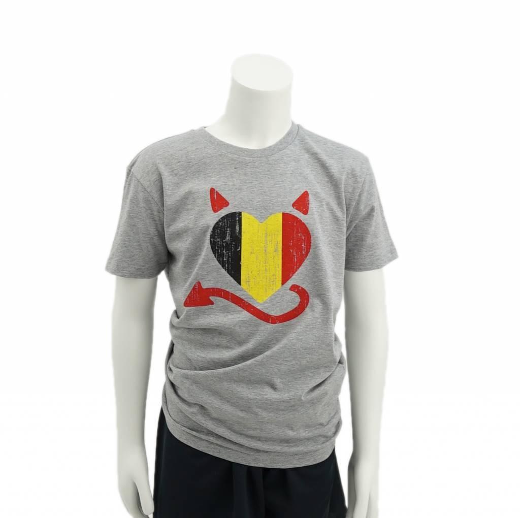 Belgian heart T-shirt kids