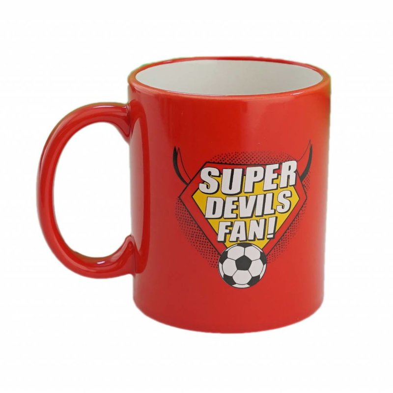 Super Devils fan mug