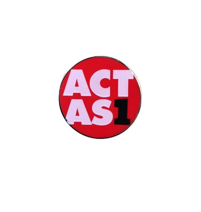 Pins de ACT as One