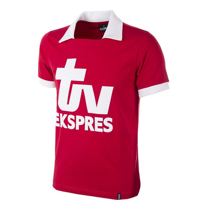 Retro shirt Royal Antwerp FC - TV Ekspres