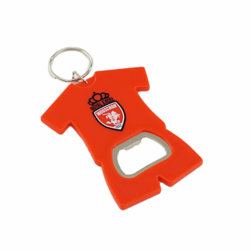 Key ring with bottle opener
