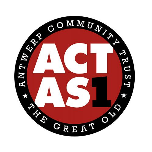 Sticker ACT as One