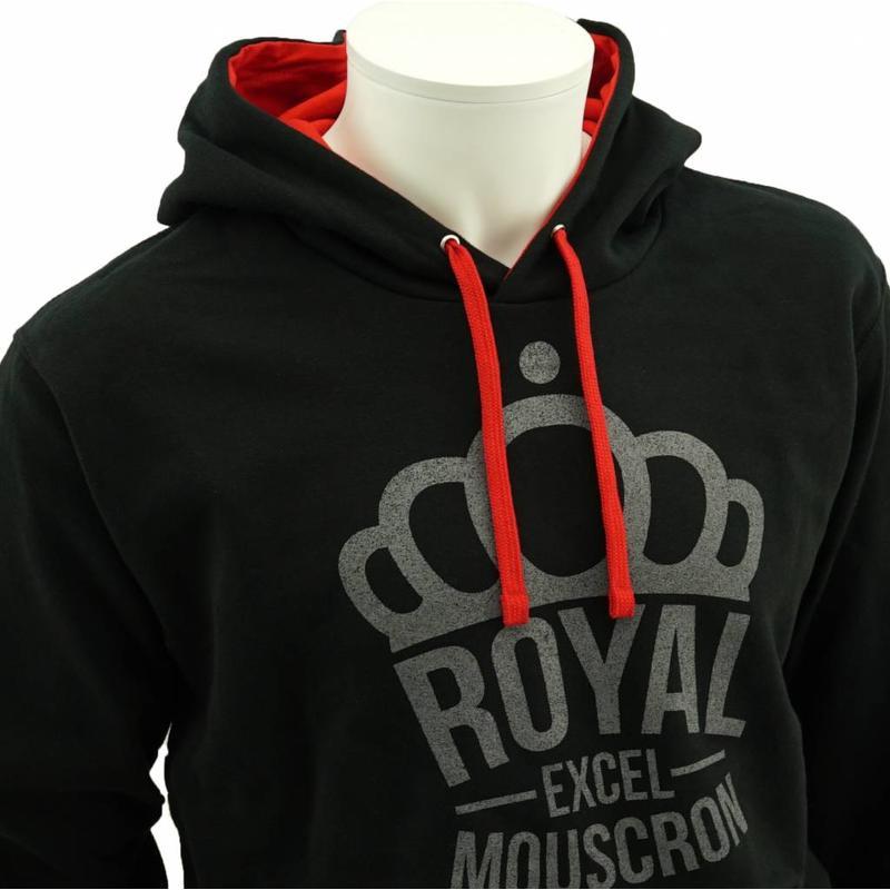 Hoodie avec couronne de Mouscron