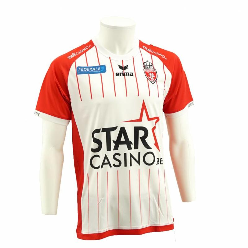 Home shirt Royal Excel Mouscron for kids