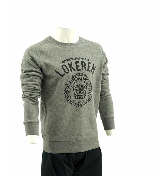 Sweater gris logo
