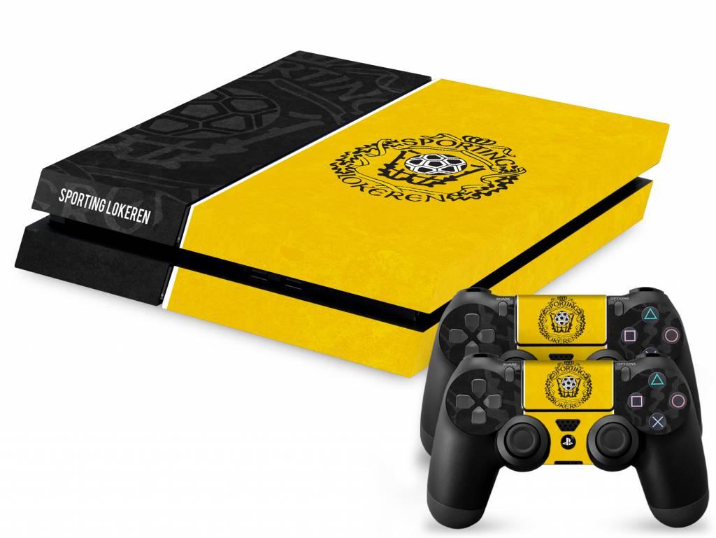 Console Skin PS4 - Sporting Lokeren