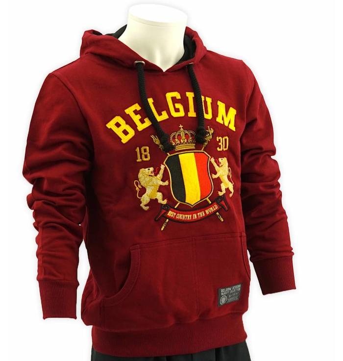 Hoodie bordeaux Belgium