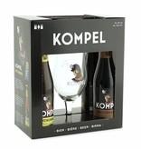 Gift Packaging 4 bottles + glass