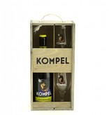 Gift package Bovengronds 75cl + 2 glasses