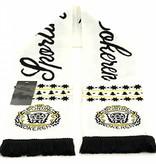 Christmas scarf white - Sporting Lokeren