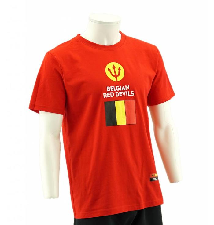 T-shirt Belgian Red Devils drapeau