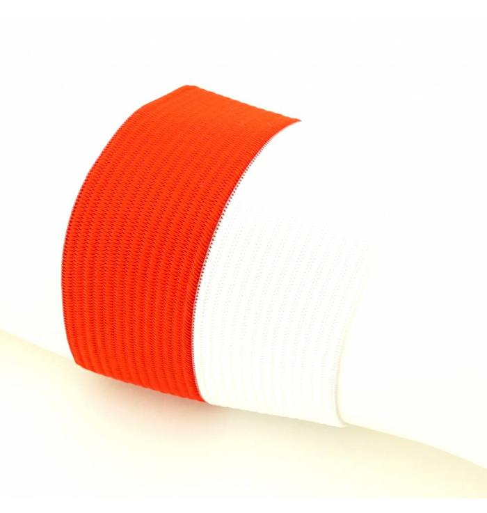 Captain's armband red/white