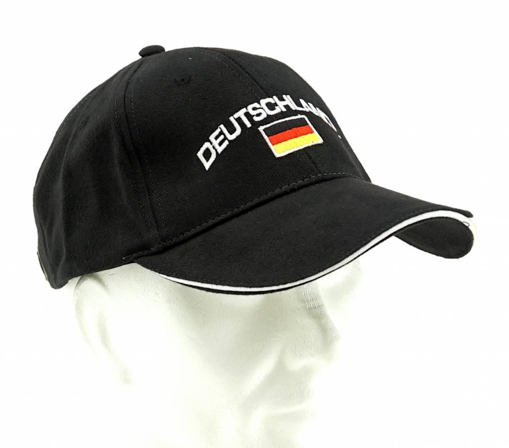 Casquette noire Allemagne