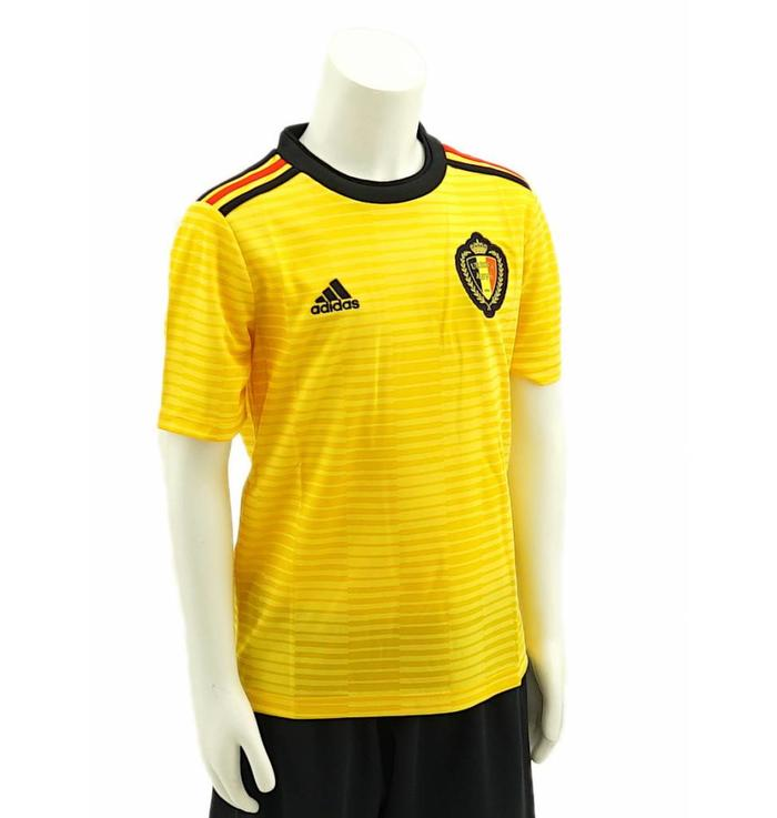 Shirt Belgian Red Devils kids - away shirt yellow