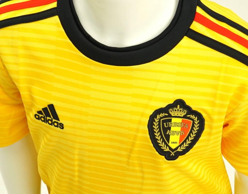 Shirt Rode Duivels WK 2018 kids - (uit shirt geel)