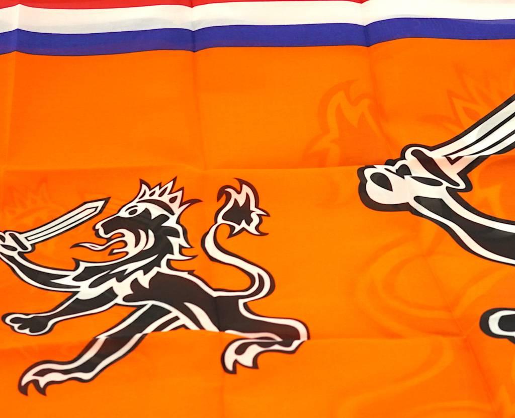 Flag Dutch lion