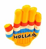 Inflatable hand Holland