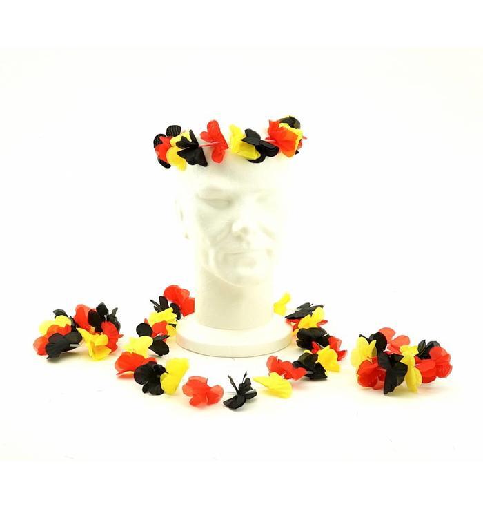 Hawaii fleur set Belgique