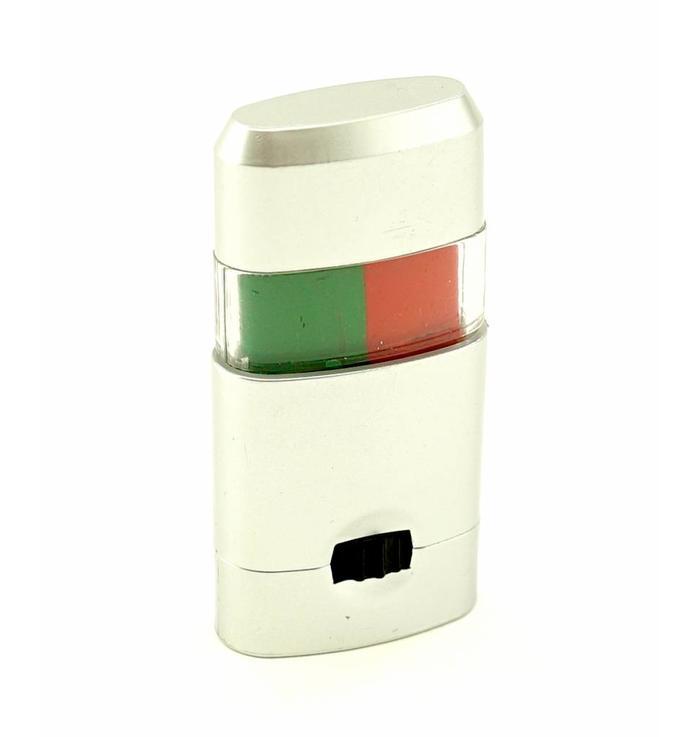 Make-up stick green-red
