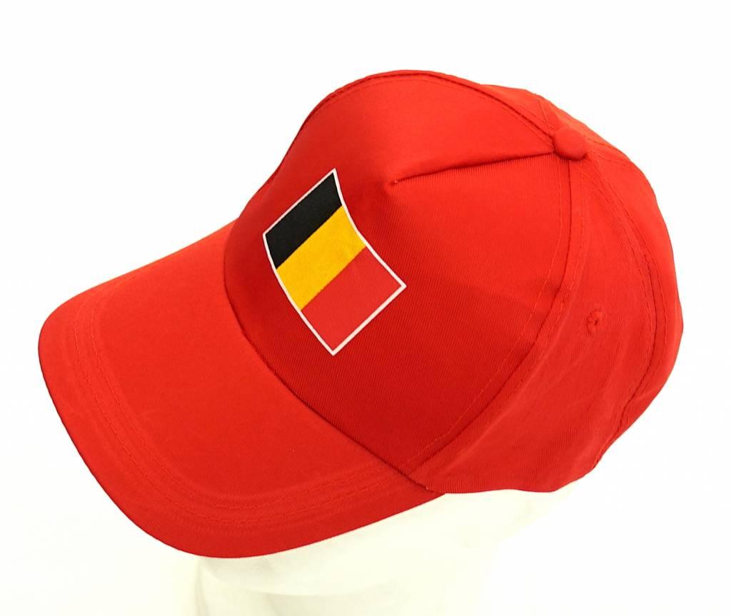 Rouge casquette Belgique